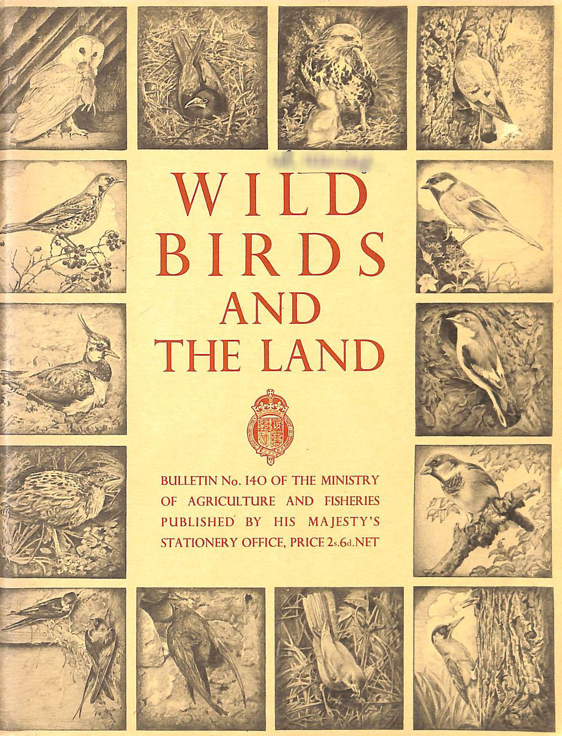 Image for Wild Birds and The Land