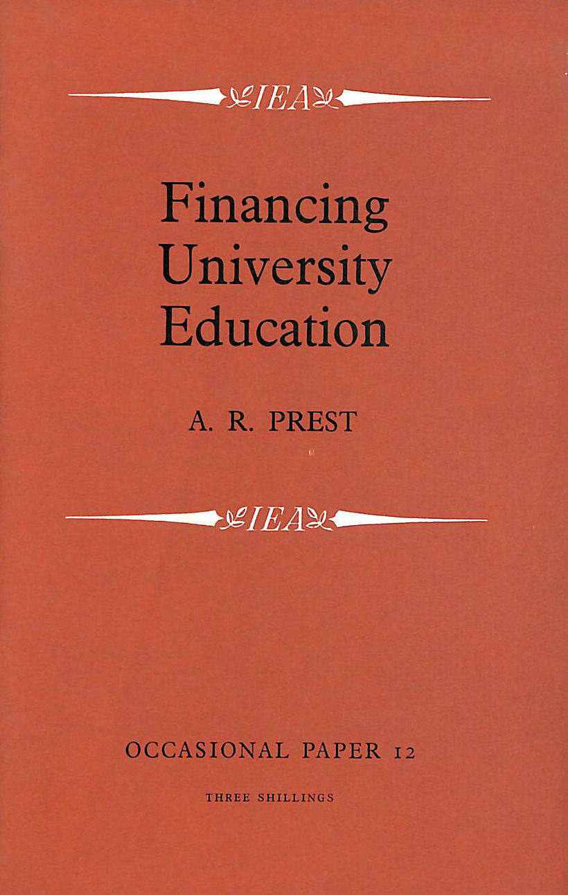 Image for Financing university education: A study of university fees and loans to students in Great Britain