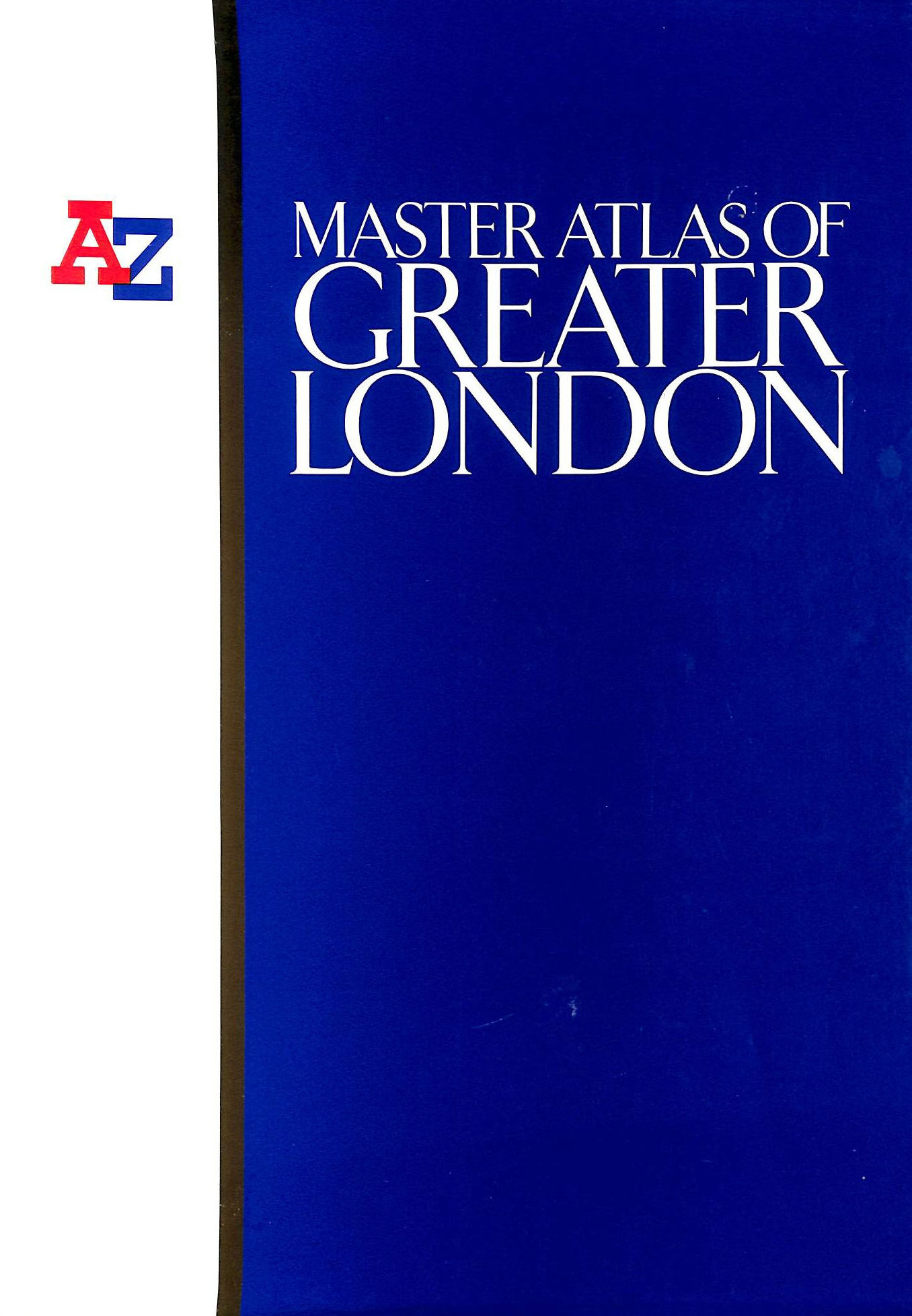 Image for A. to Z. Master Atlas of Greater London (London Street Atlases)