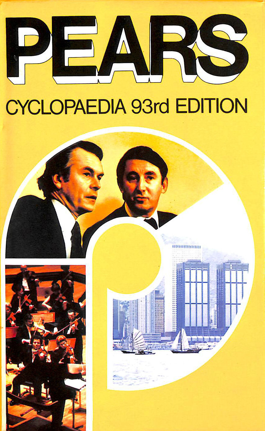 Image for Pears Cyclopedia 93rd Edition