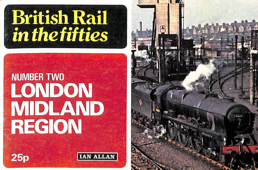 Image for British Rail in the Fifties : Number Two, London Midland Region