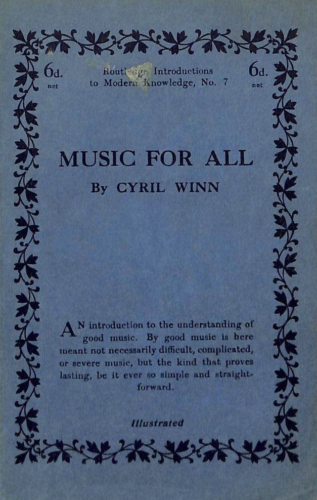 Image for Music for All