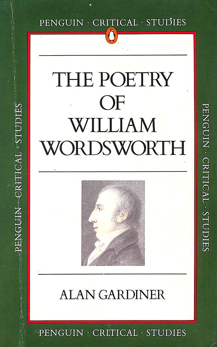 Image for Critical Studies: The Poetry of William Wordsworth