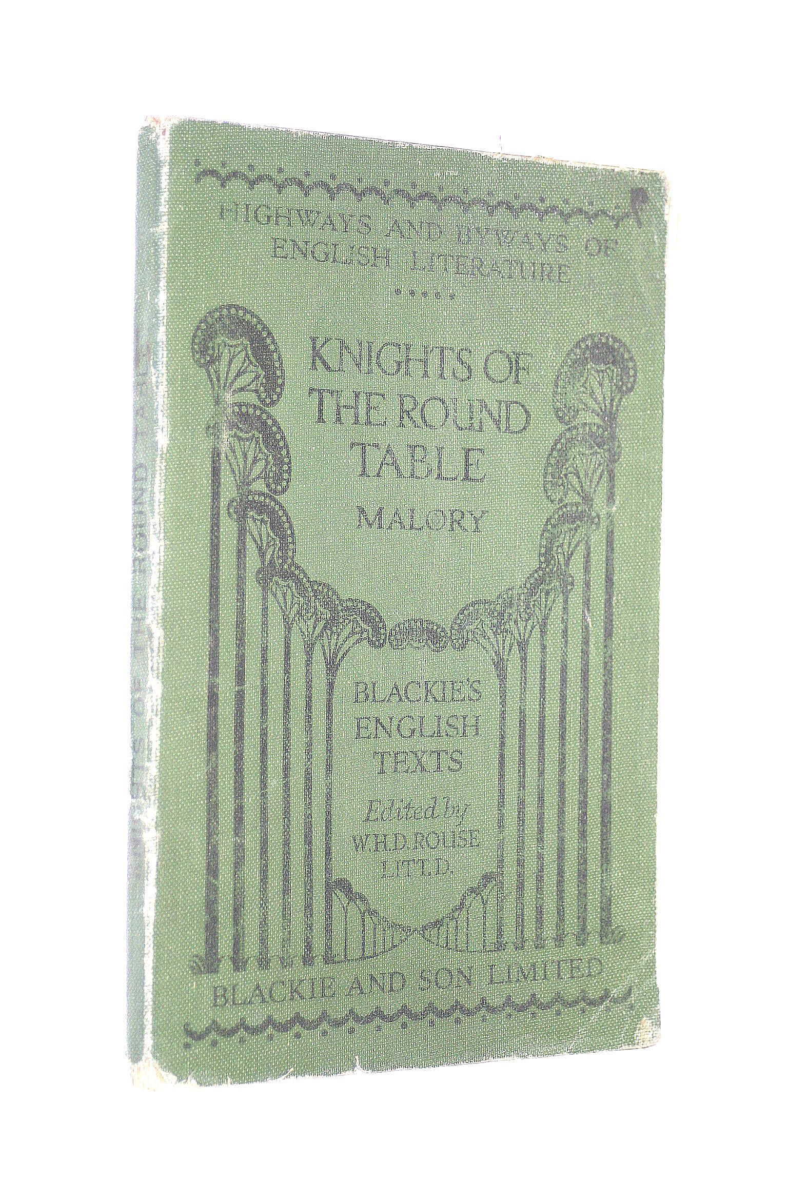 Image for The Knights of the Round Table (Blackies English Texts)