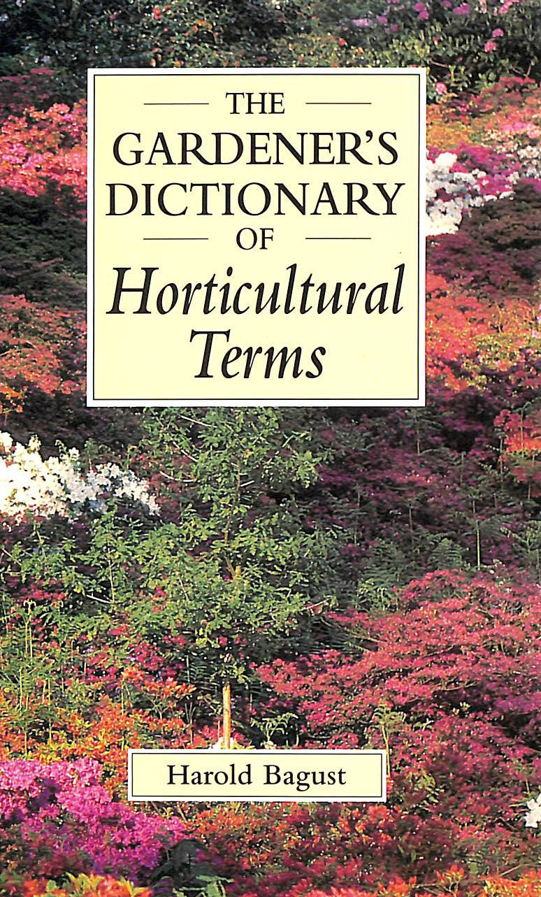 Image for The Gardener's Dictionary of Horticultural Terms