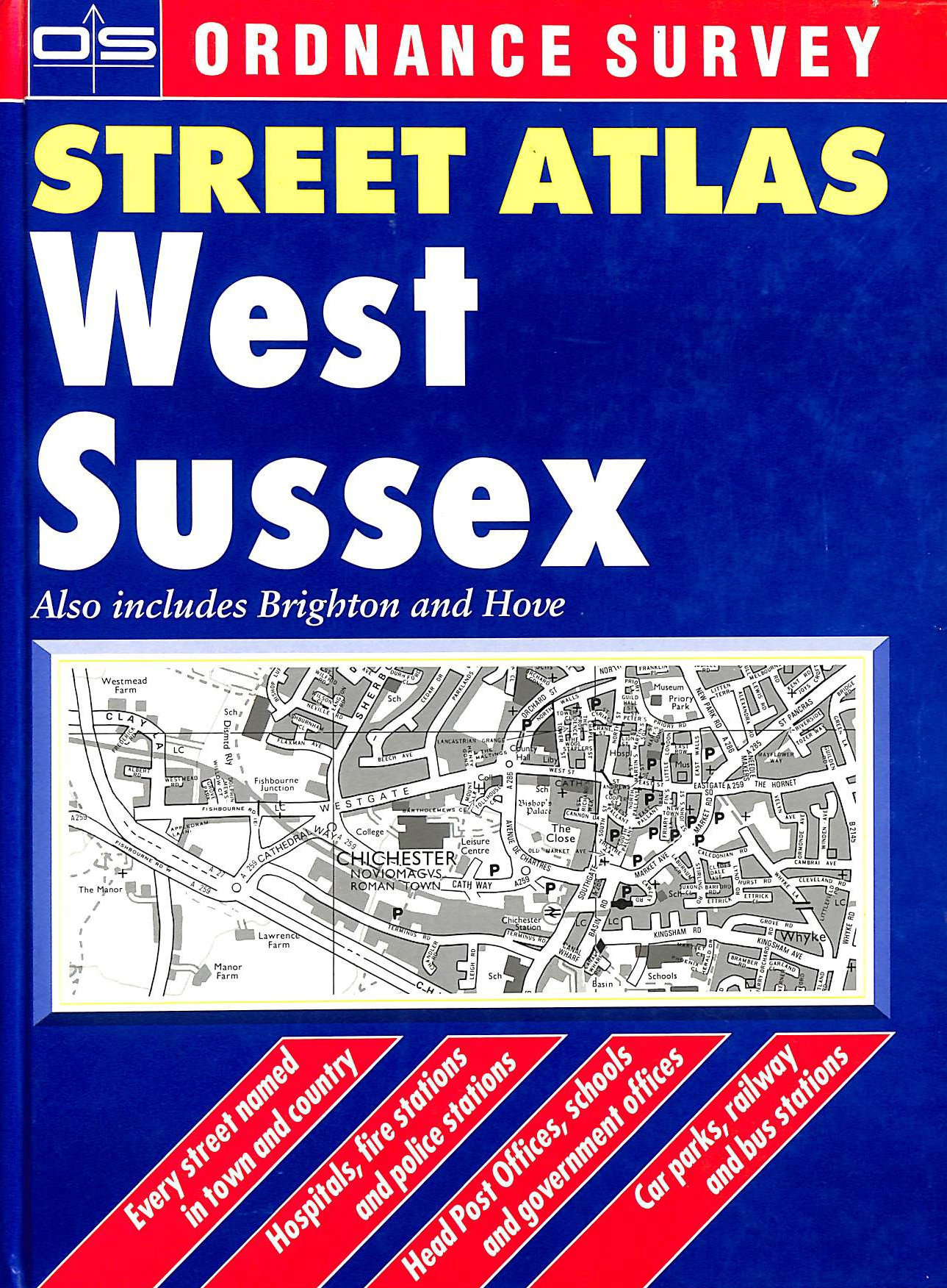 Image for Street Atlas West Sussex