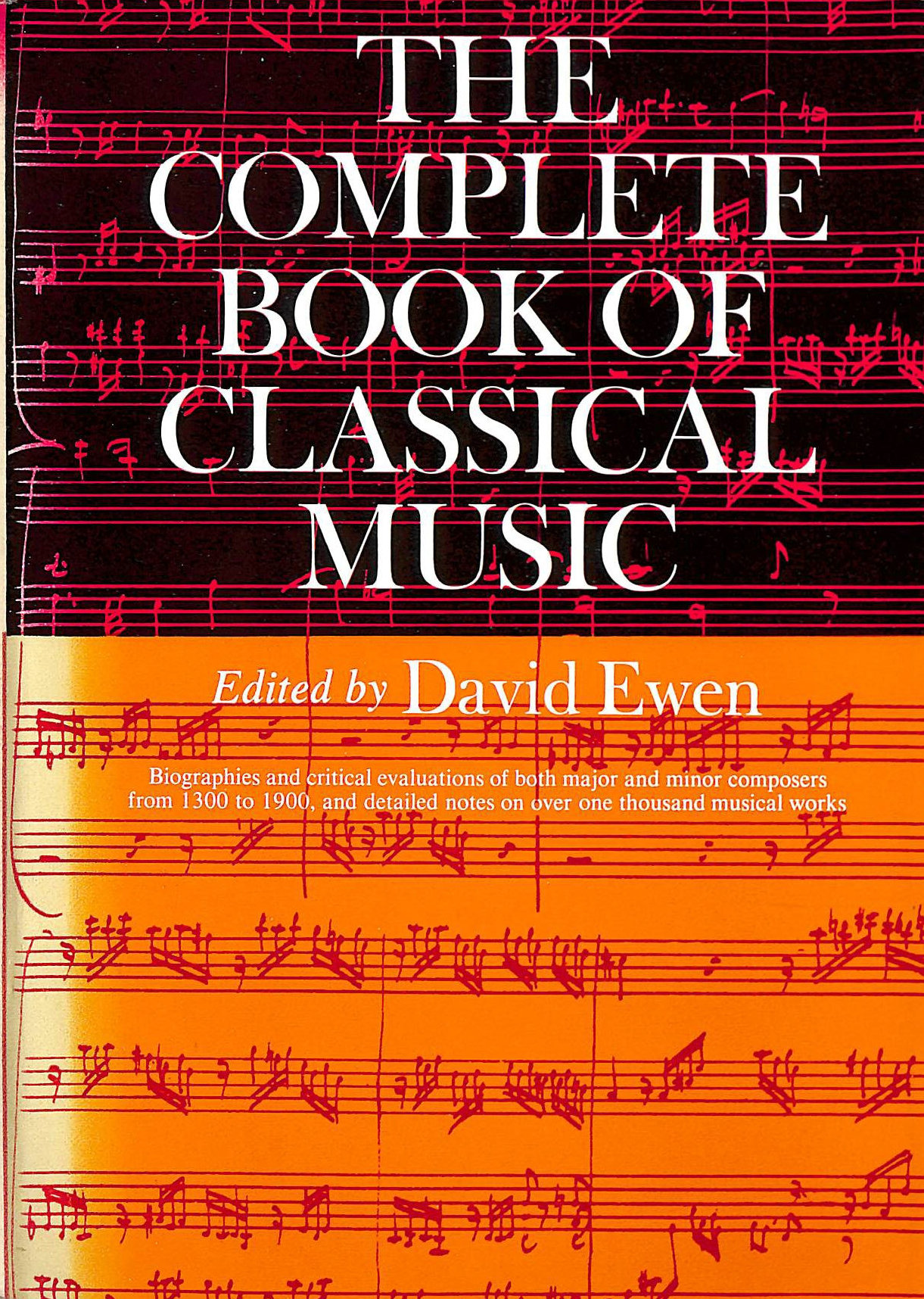 Image for Complete Book of Classical Music
