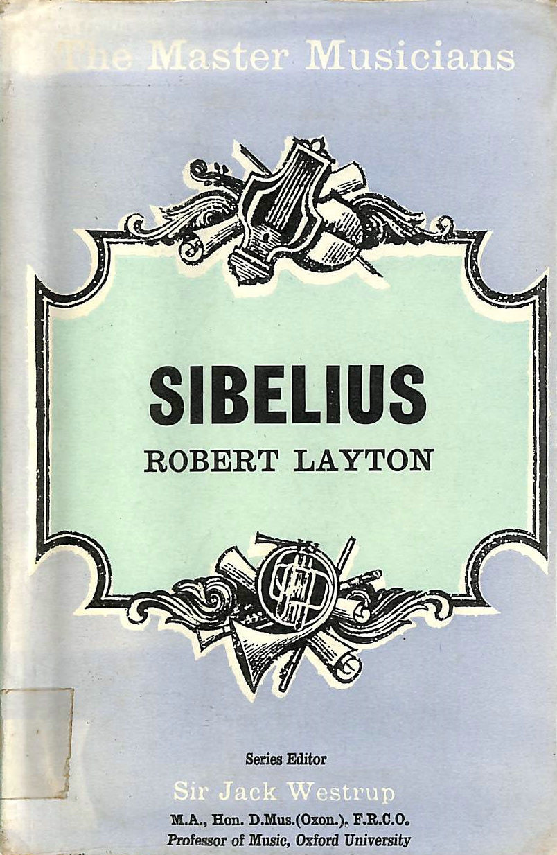 Image for Sibelius (The Master Musicians)