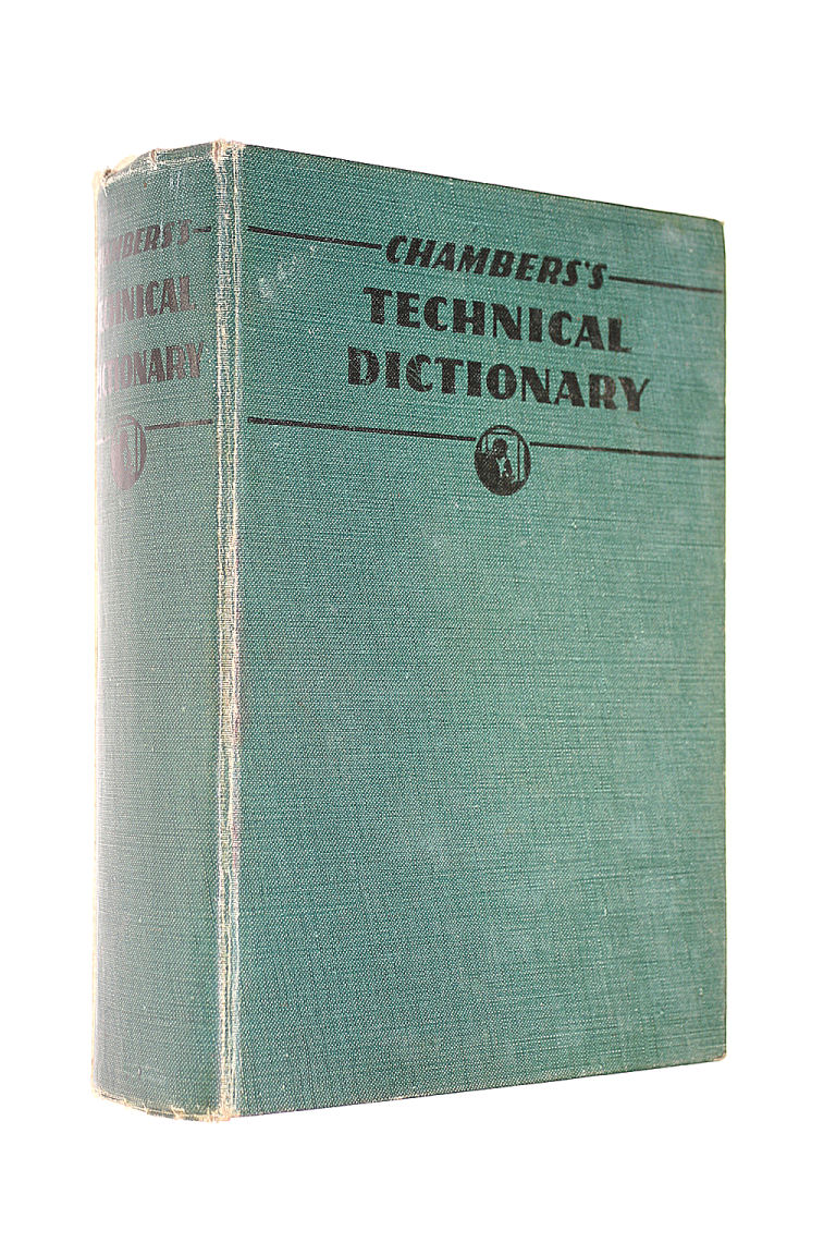 Image for CHAMBERS's TECHNICAL DICTIONARY.