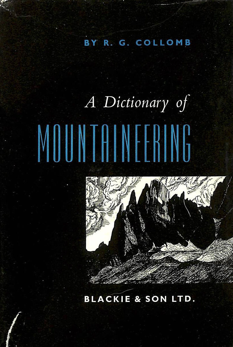 Image for A Dictionary of Mountaineering