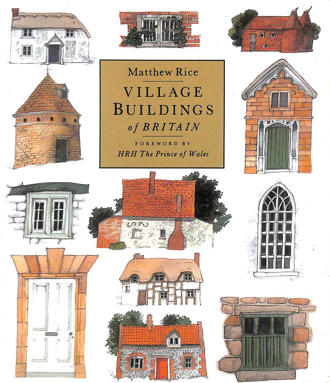 Image for VILLAGE BUILDINGS OF BRITAIN.