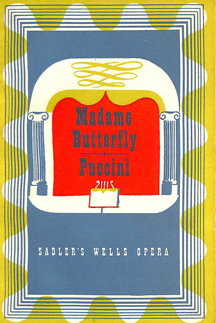 Image for Madame Butterfly --Puccini--- Sadler's Wells Opera Books No. 4