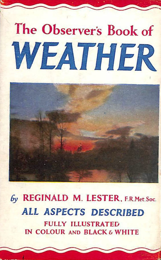 Image for Observers Book of Weather