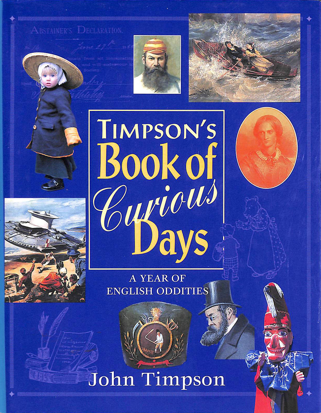 Image for Timpson's Book of Curious Days: A Year Book of English Oddities