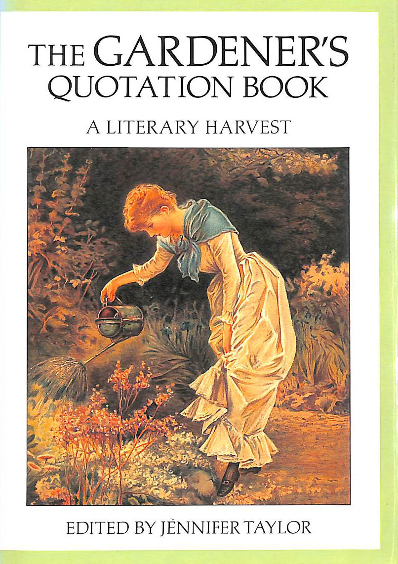 Image for The Gardener's Quotation Book: A Literary Harvest