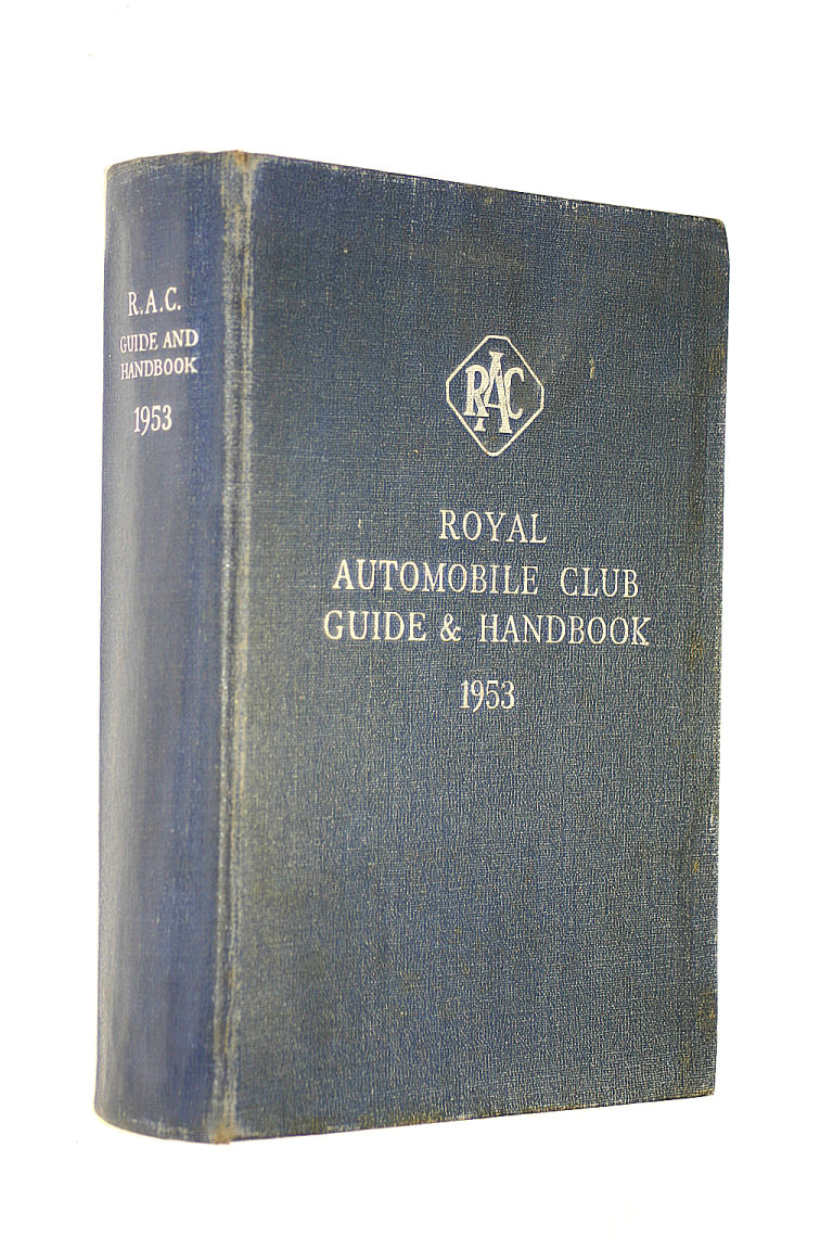 Image for Royal Automobile Club Guide and Handbook 1952