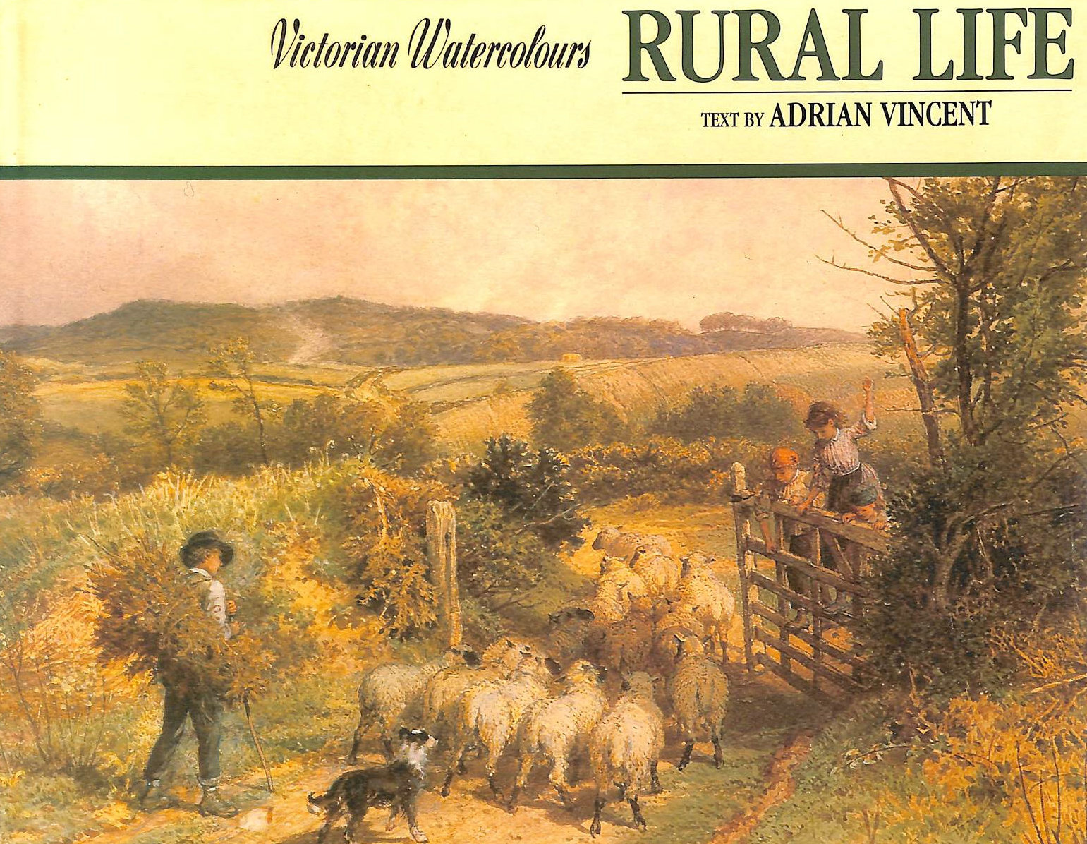 Image for Victorian Watercolours: Rural Life (Victorian Watercolours S.)