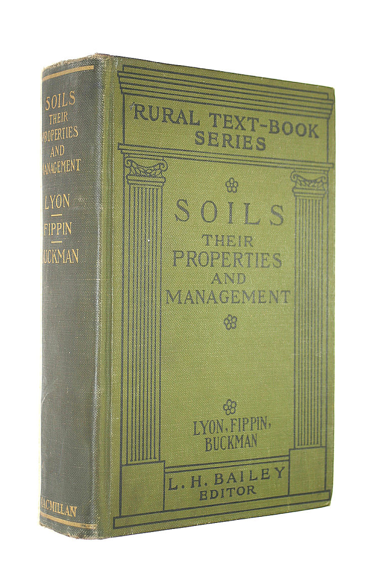 Image for Soils, their properties and management (Rural Text-Book Series)