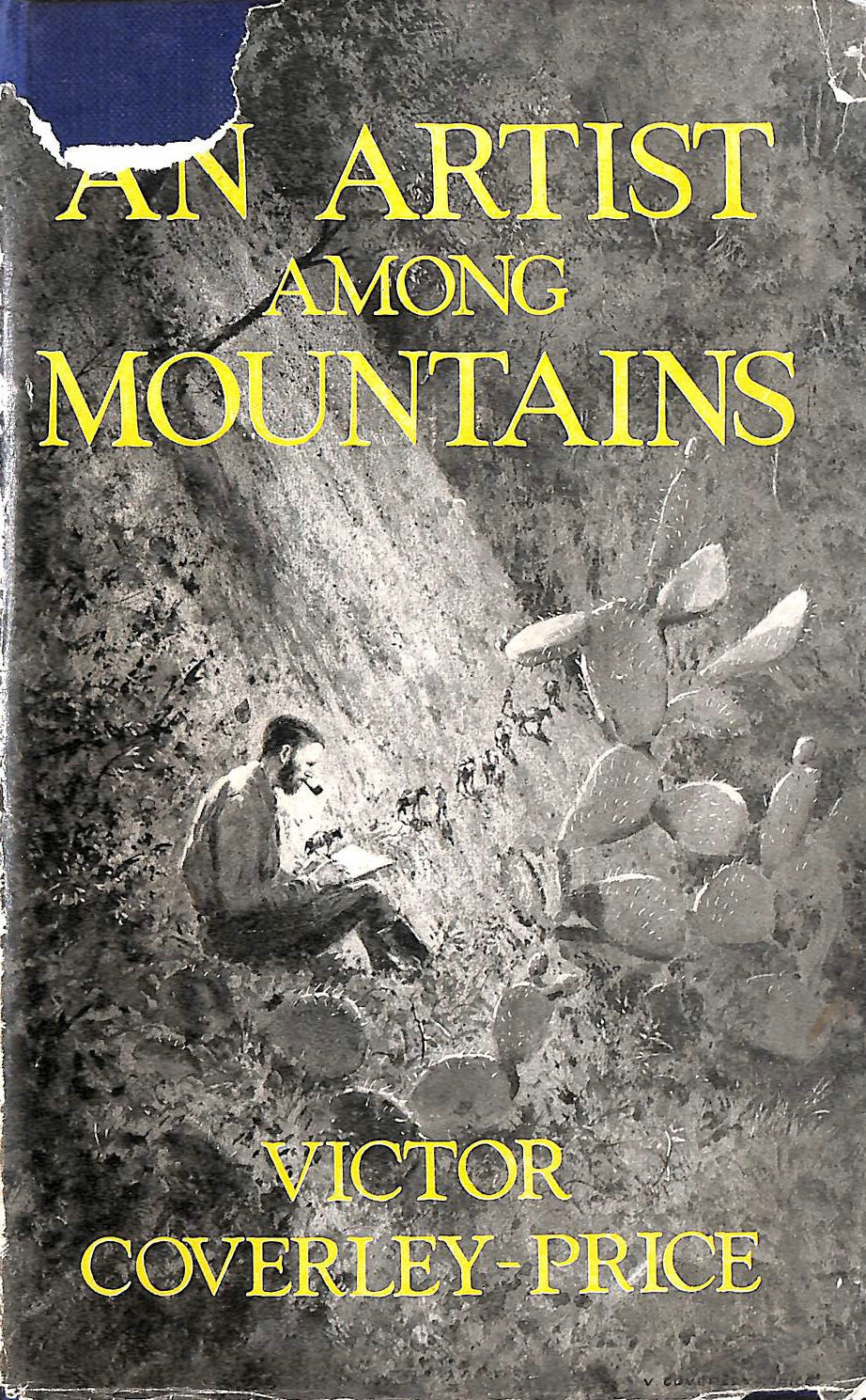 Image for An artist among mountains