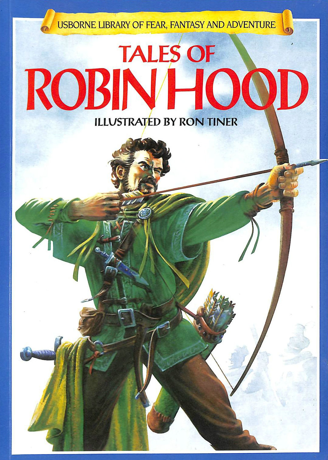 Image for Tales of Robin Hood (Usborne Library of Fear, Fantasy and Adventure S.)