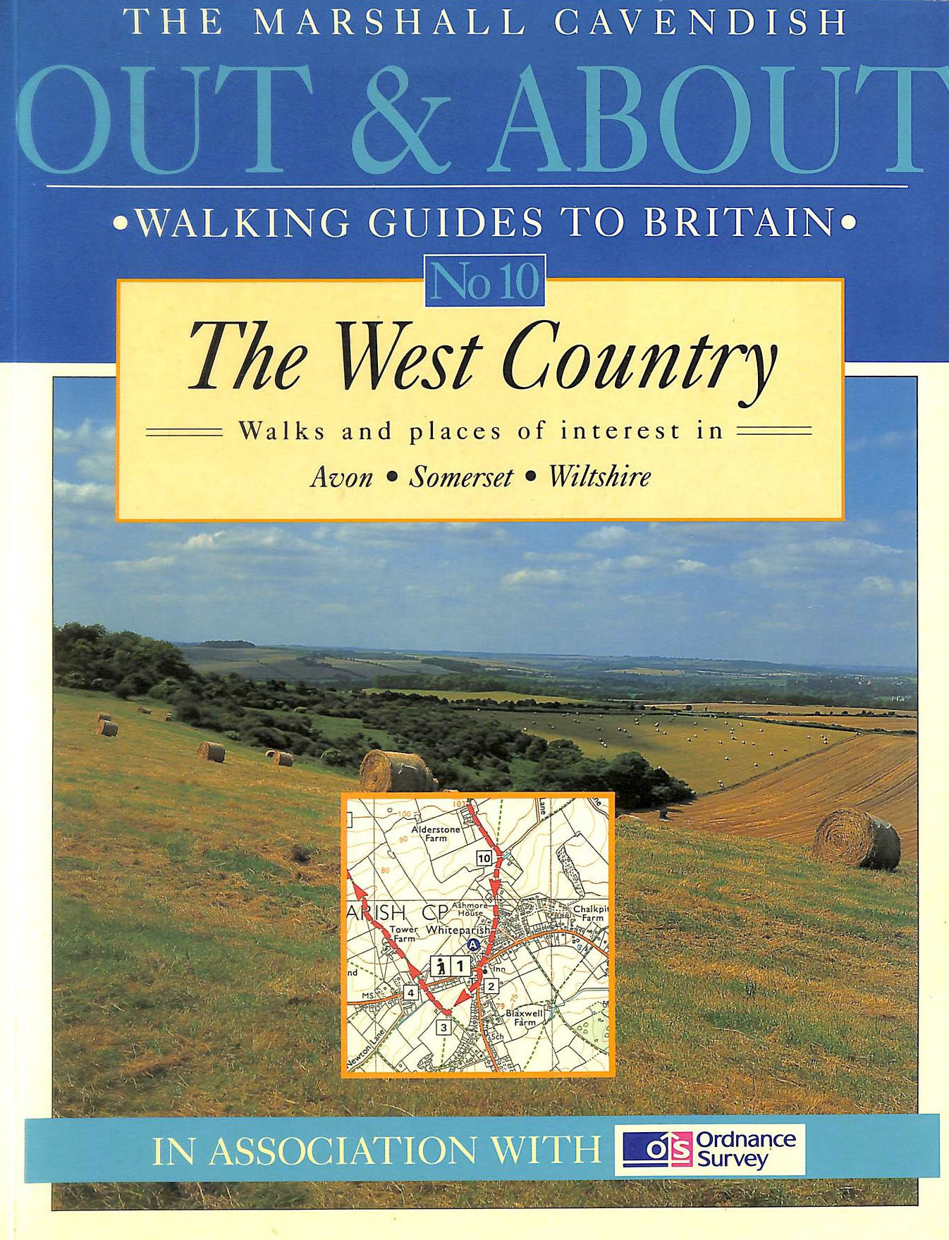 Image for The West Country: Walks and places of interest in Avon / Somerset / Wiltshire (Out and About Walking Guides to Britain)