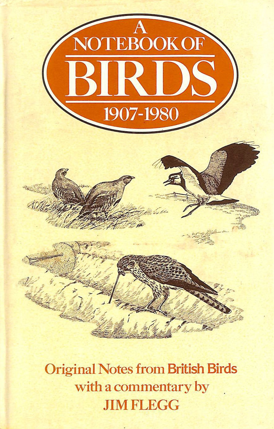 Image for Notebook of Birds 1907 - 1980; Original notes from British Birds