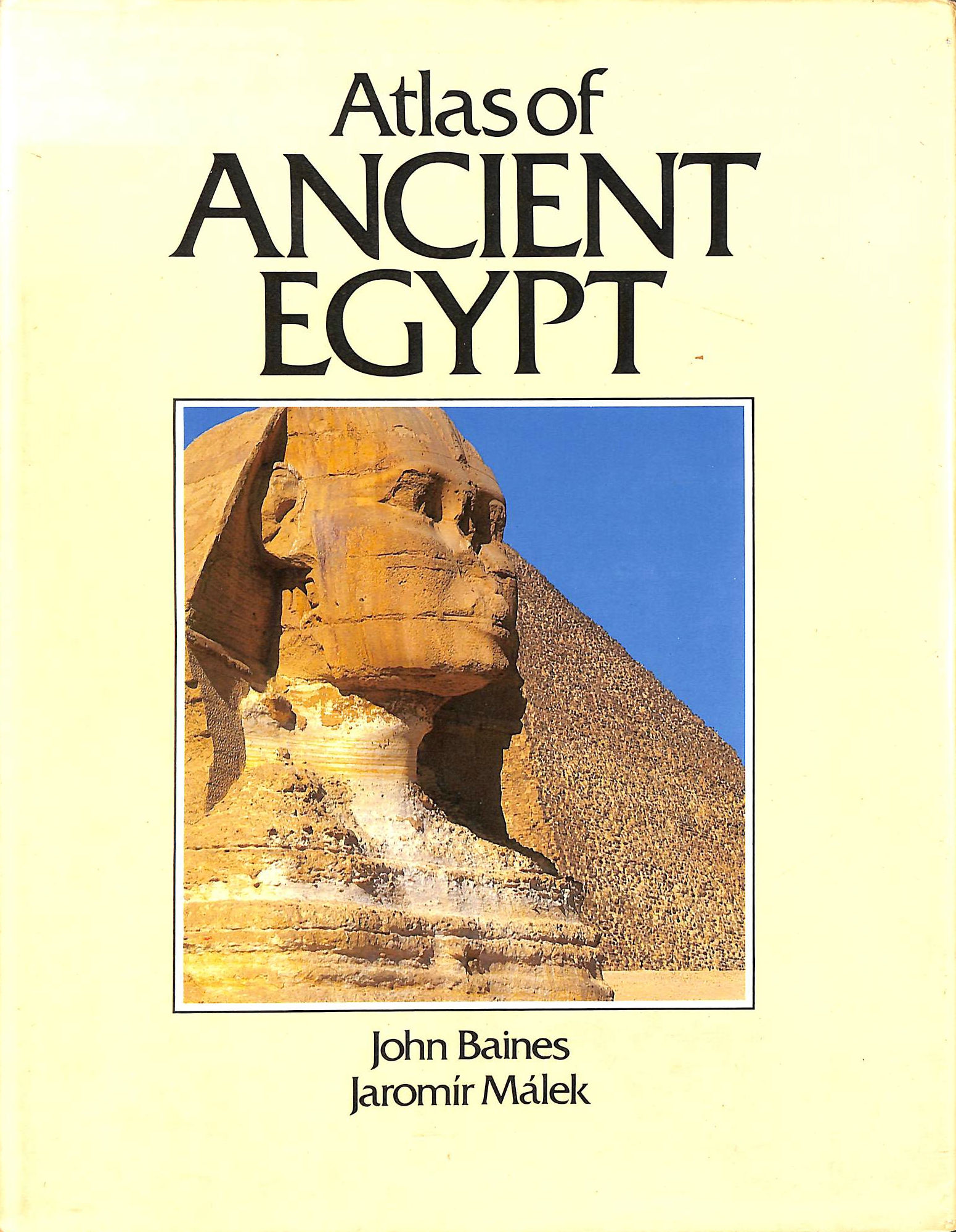 Image for Atlas of Ancient Egypt