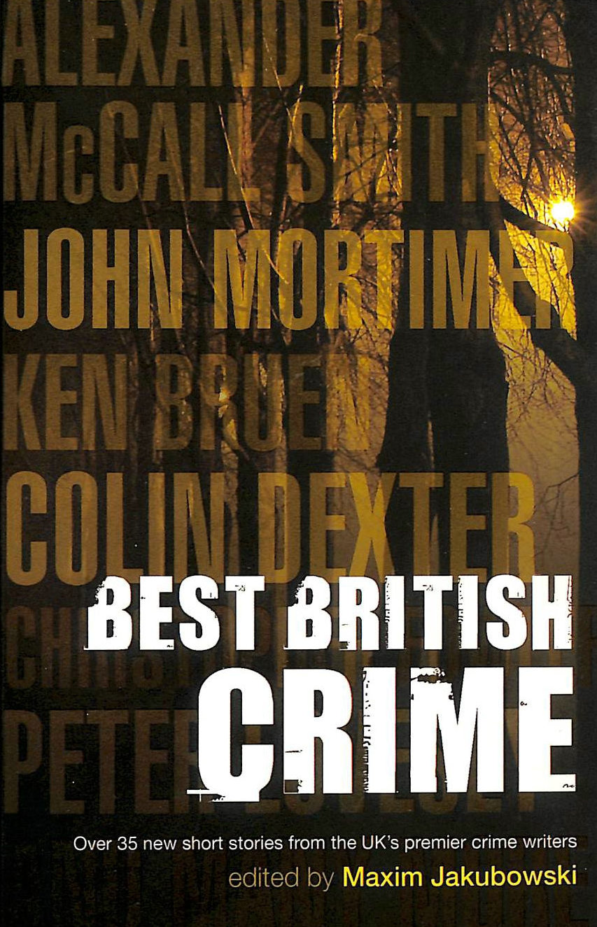 Image for The Mammoth Book of Best British Crime