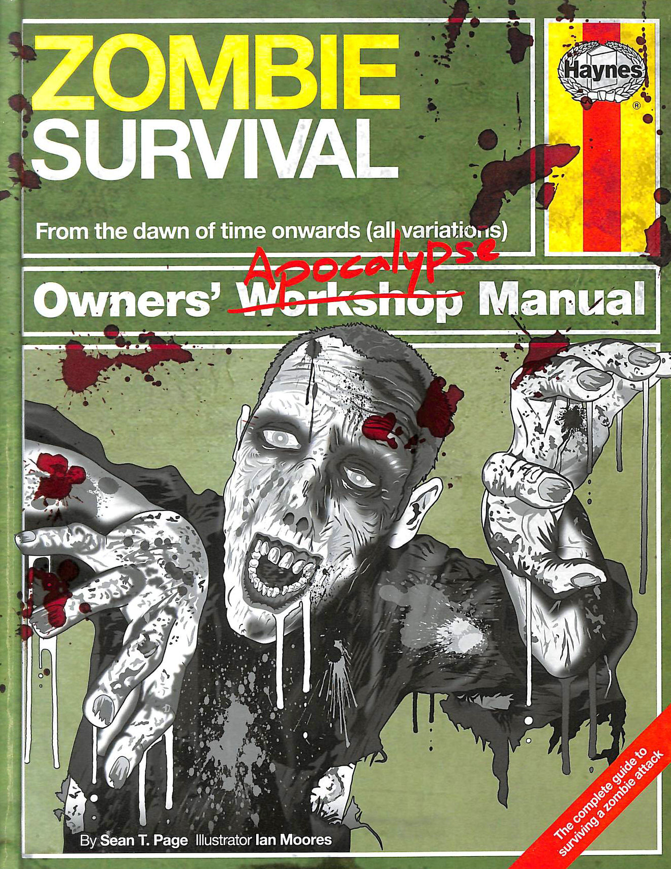 Image for Zombie Survival Manual: The complete guide to surviving a zombie attack (Owners Apocalypse Manual)
