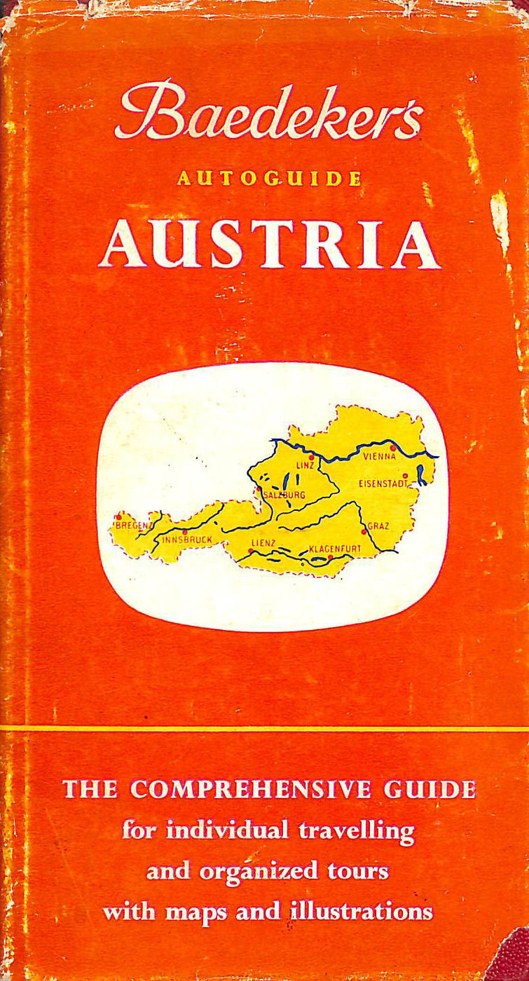 Image for Austria With Approach Routes Through Bavaria (Baedeker's autoguides)