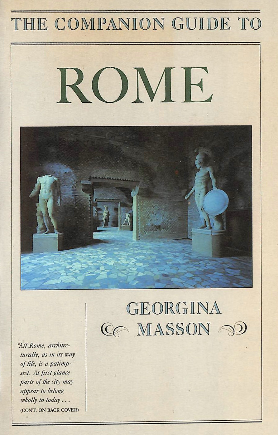 Image for The Companion Rome