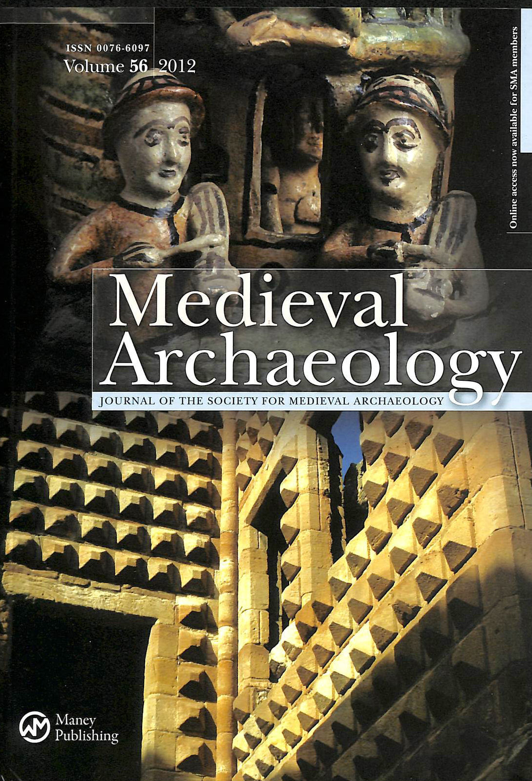 Image for Medieval Archaeology The Journal of the Society for Medieval Archaeology Volume 56 2012