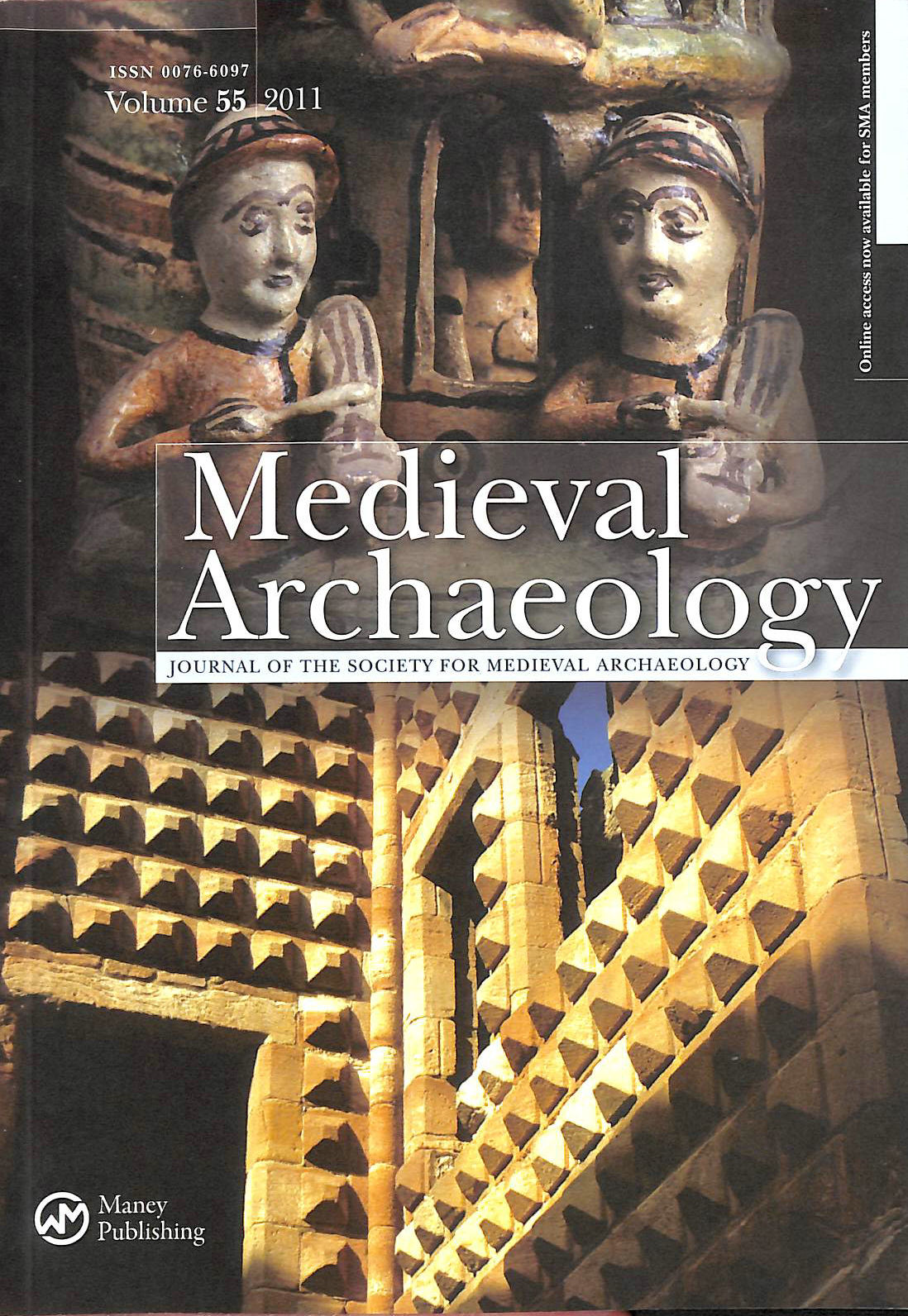 Image for Medieval Archaeology The Journal of the Society for Medieval Archaeology Volume 55 2011