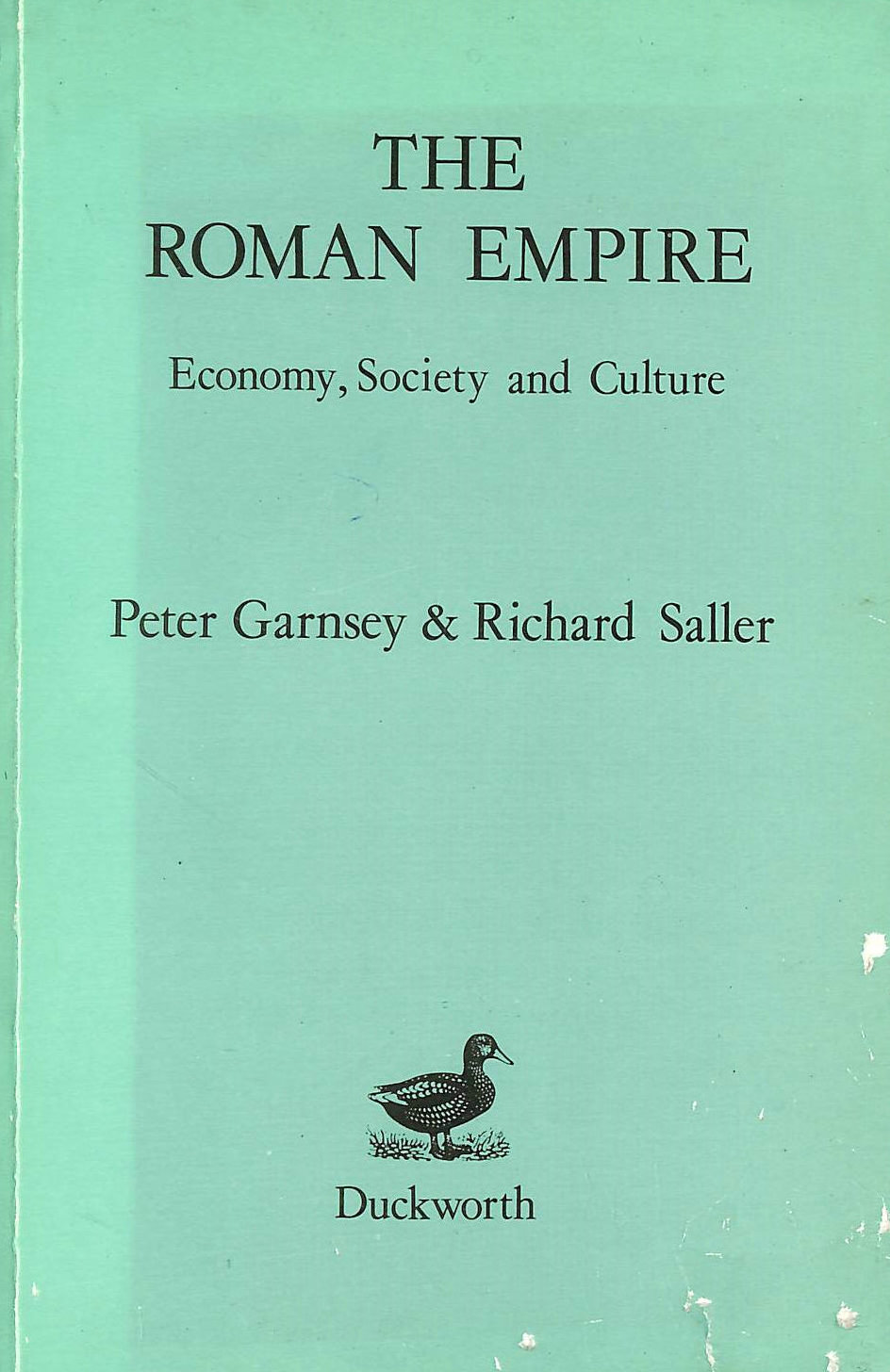 Image for The Roman Empire: Economy, Society and Culture