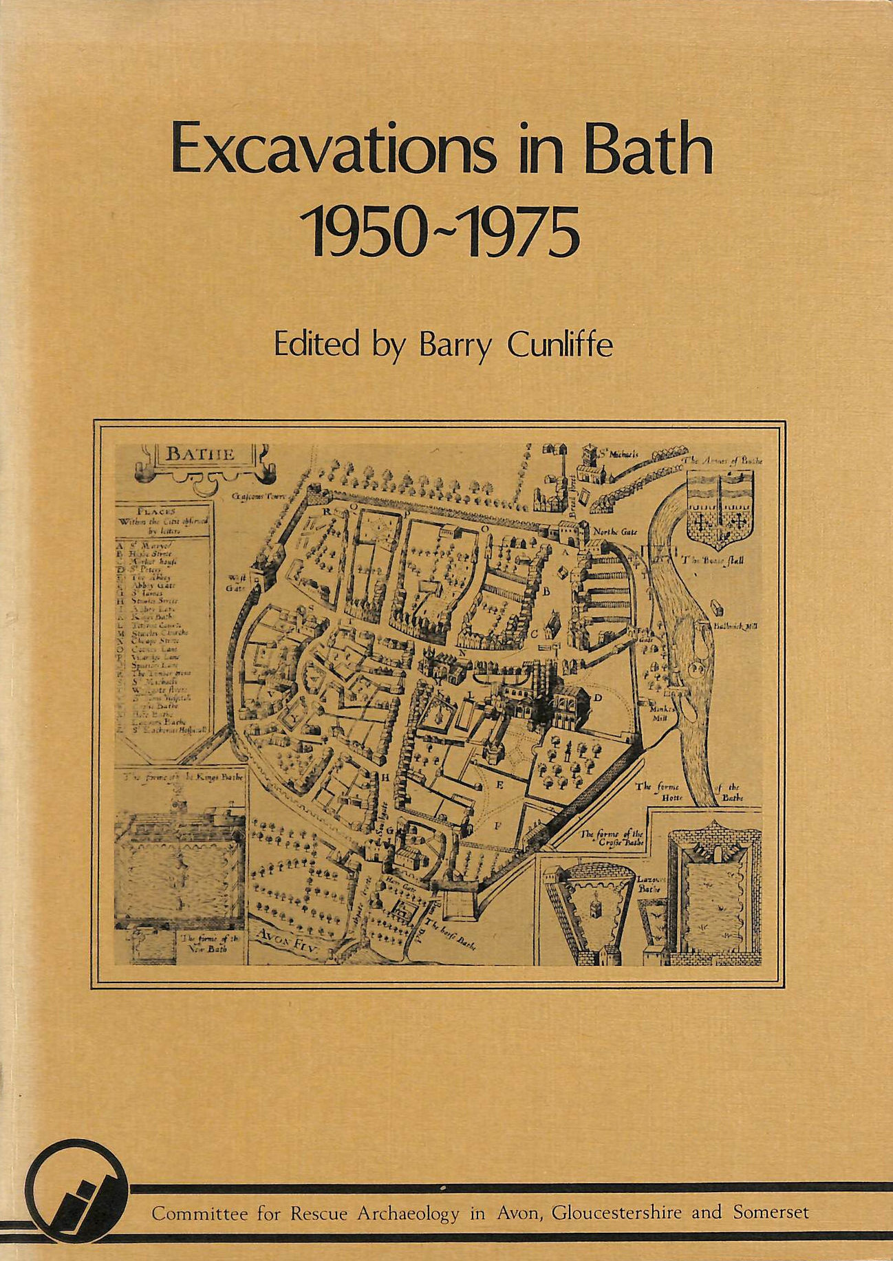 Image for Excavations in Bath, 1950-75 (Western Archaeological Trust)