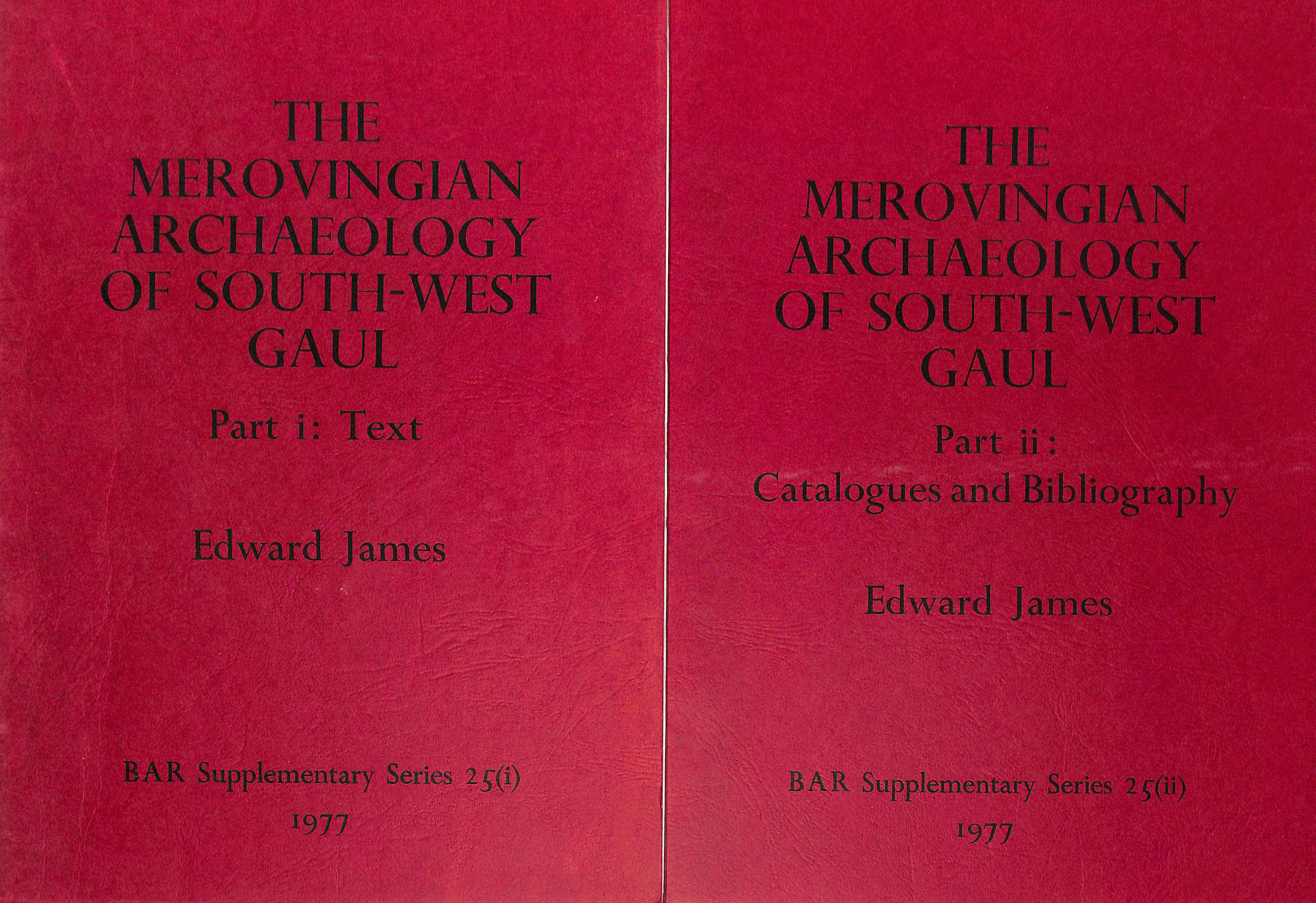 Image for Merovingian Archaeology of South-west Gaul (British Archaeological Reports International Series)