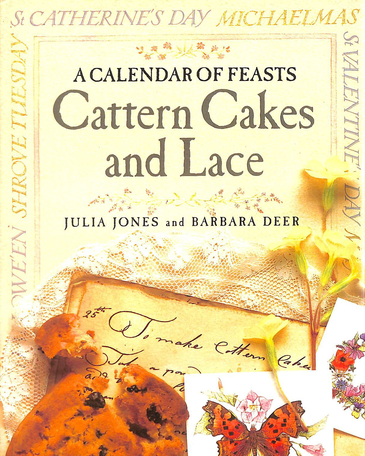 Image for Cattern Cakes and Lace A Calendar of Feasts