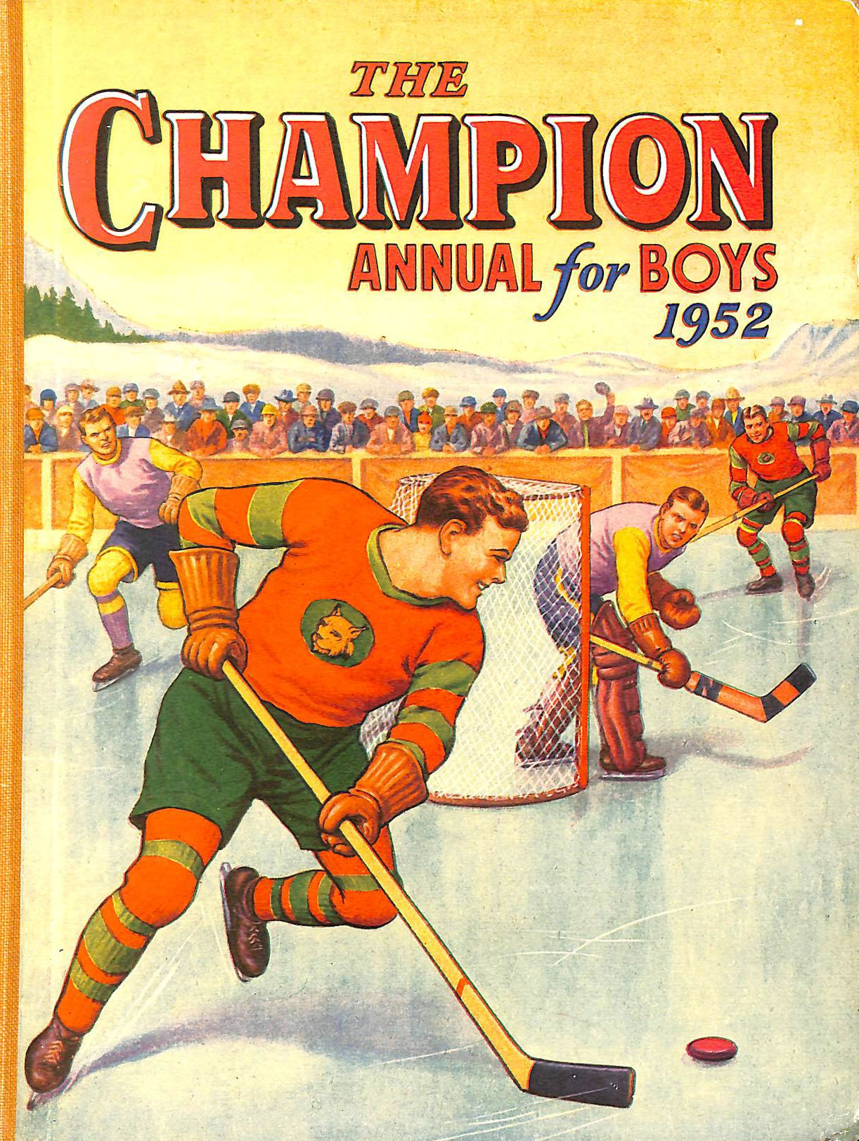 Image for The Champion Annual for Boys 1952
