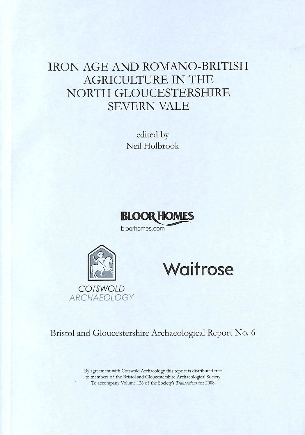 Image for Iron Age and Romano-British Agriculture in the North Gloucestershire Severn Vale