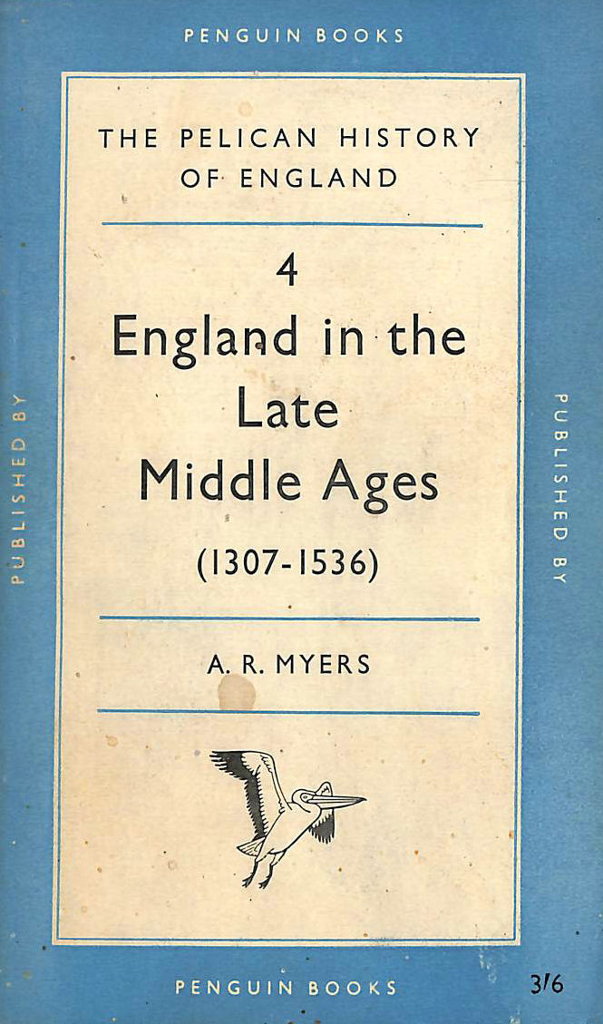 Image for England in the Late Middle Ages, 1307 - 1536