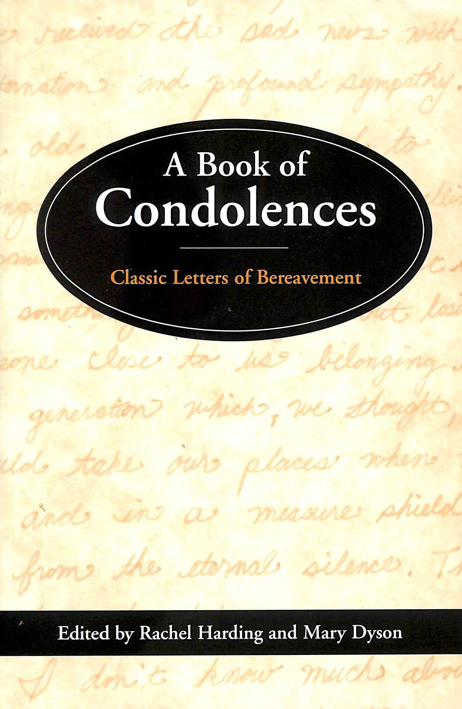 Image for Book of Condolences - Classic Letters of Bereavement