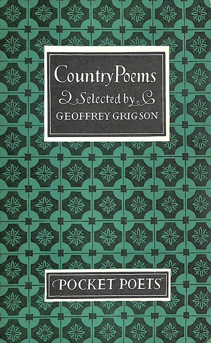 Image for Country Poems (Pocket poets)