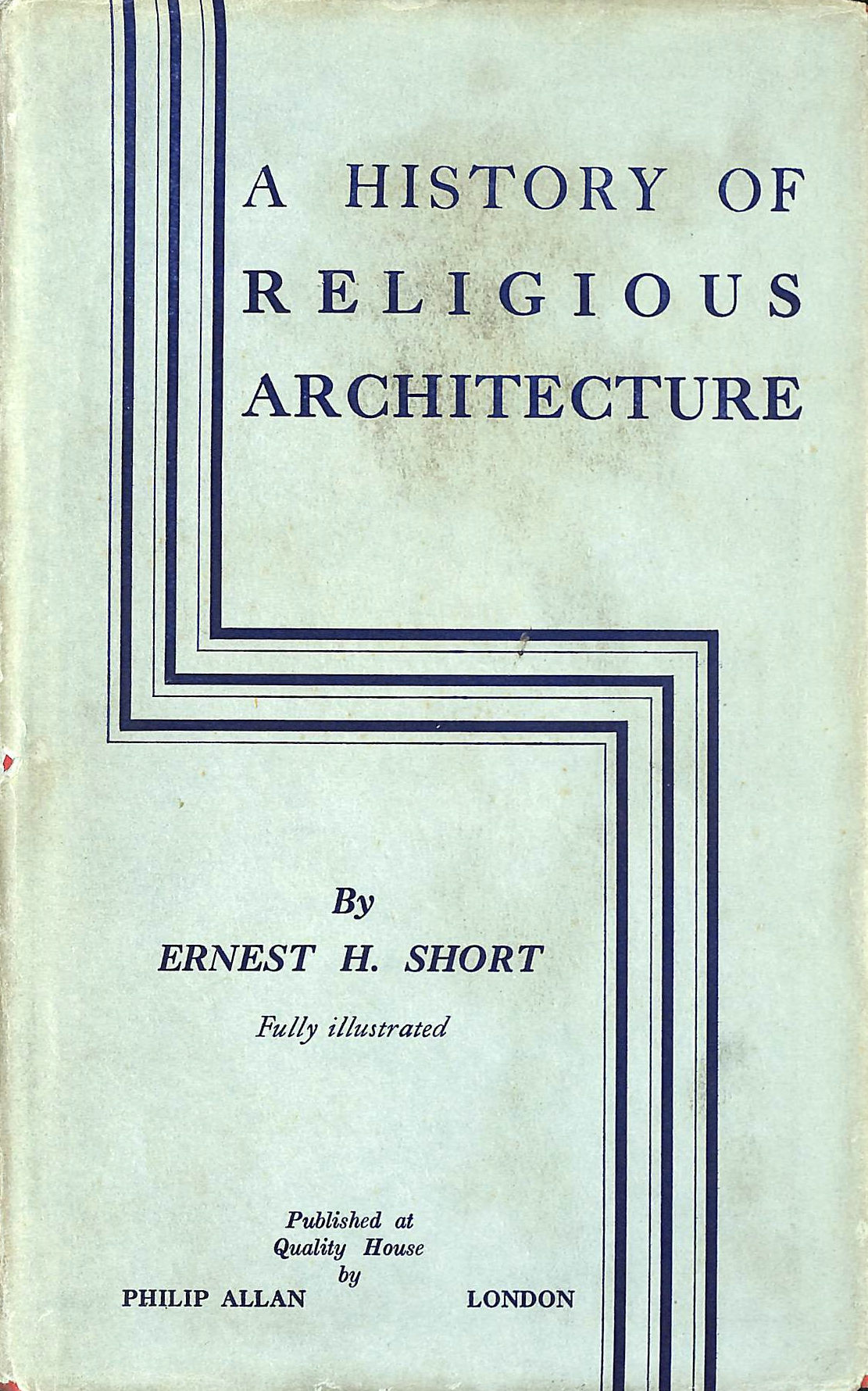 Image for A History of Religious Architecture