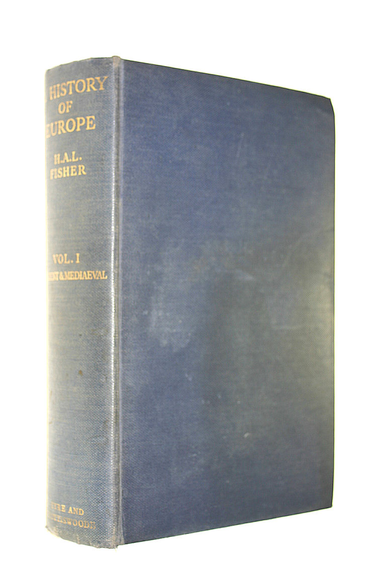 Image for A History of Europe. Volume One.Ancient and Mediaeval