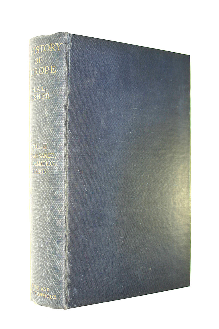 Image for A History of Europe, vol II, Renaissance, Reformation, Reason