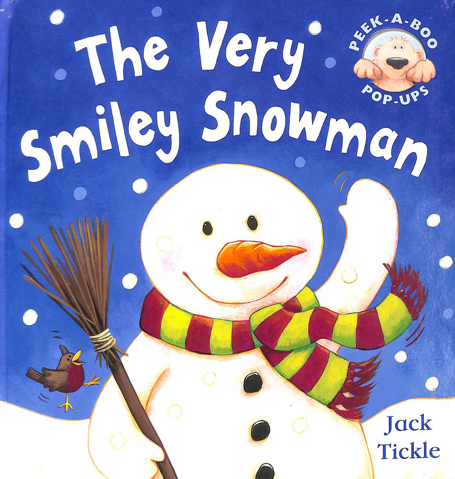Image for The Very Smiley Snowman (Peek a Boo Pop Ups)