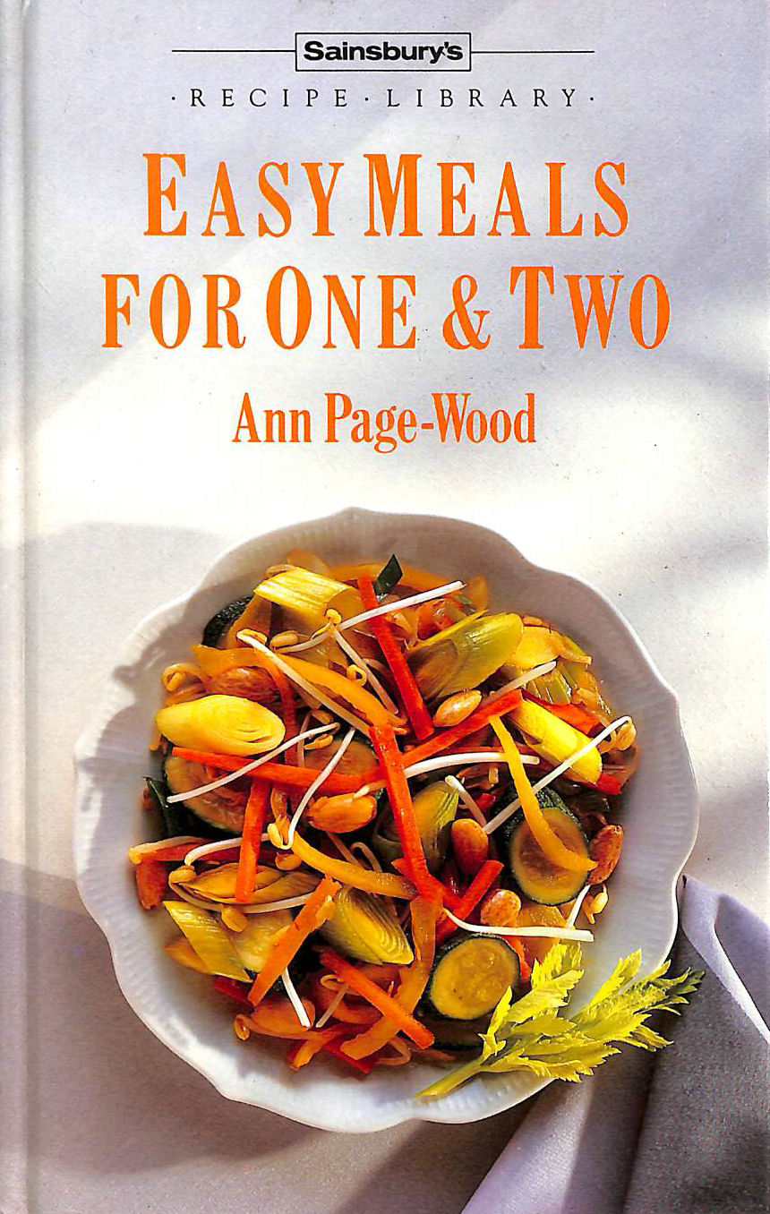 Image for Easy Meals for One and Two
