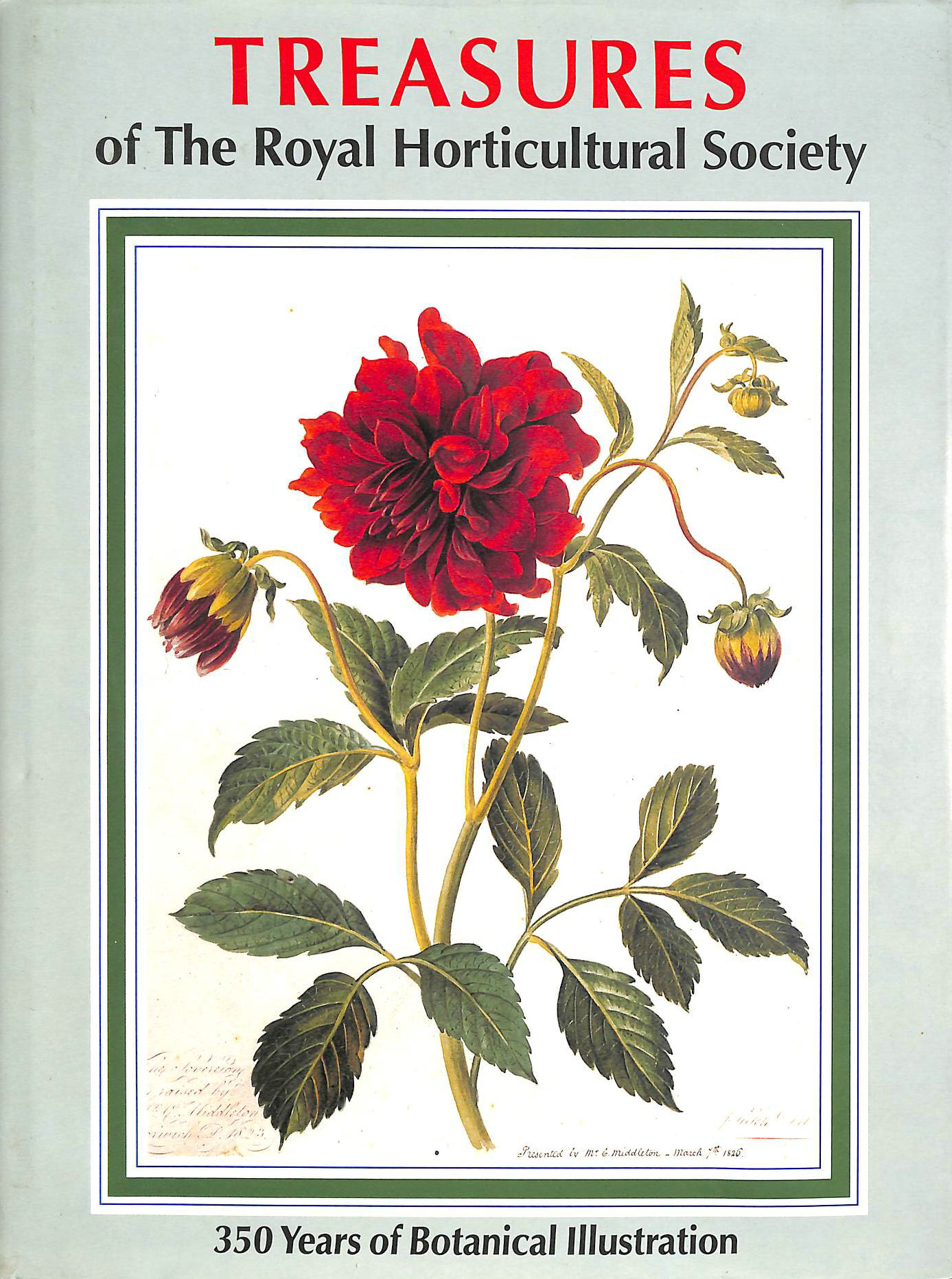 Image for Treasures of the Royal Horticultural Society (Art Reference)