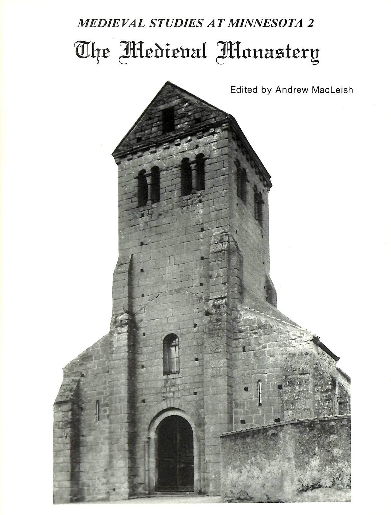 Image for The Medieval Monastery (Medieval Cultures)