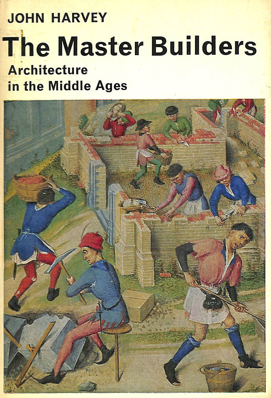 Image for The Master Builders: Architecture in the Middle Ages (Library of Mediaeval Civilization S.)